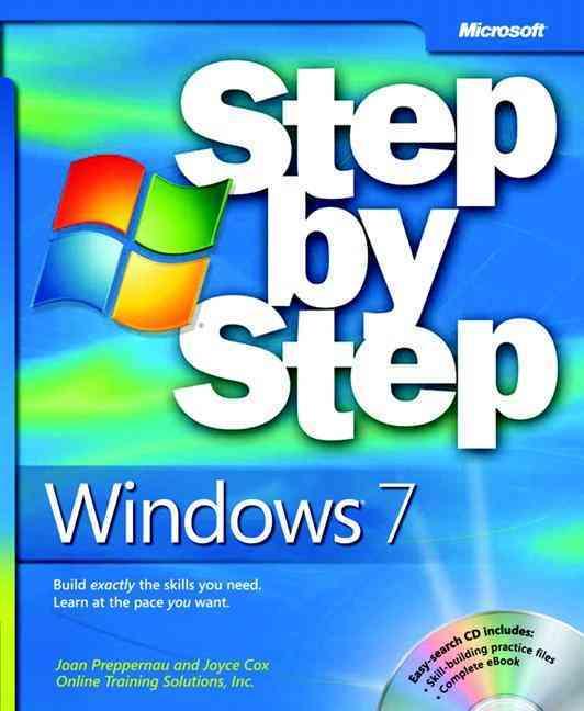Windows 7 Step by Step By Preppernau, Joan/ Cox, Joyce
